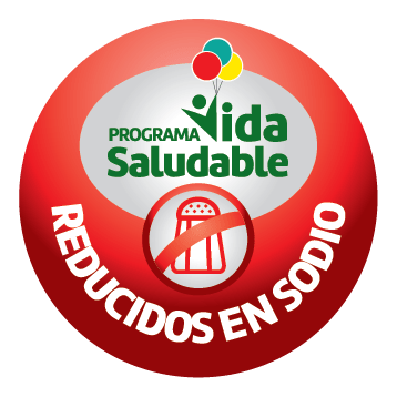 vida Saludable reducidos Sodio